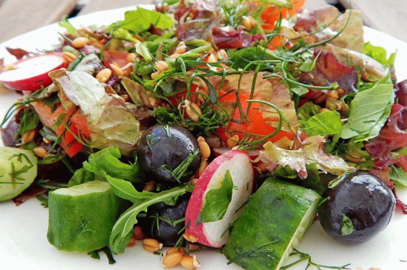 фото вышло салат из проросшей пшеницы рецепт с фото нарядить новогоднюю ёлочку