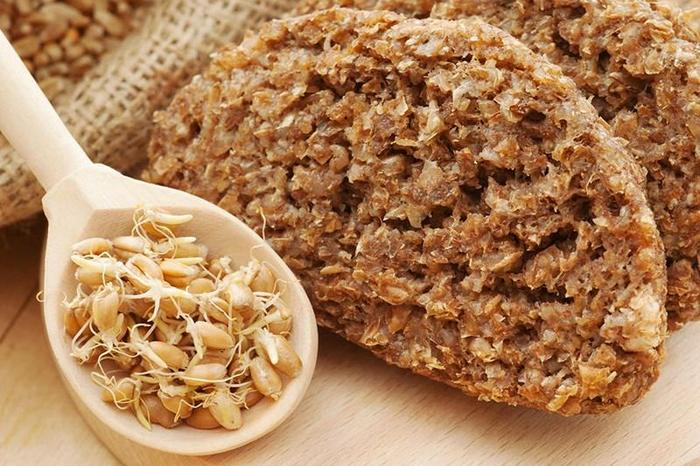 Хлеб с пророщенным зерном